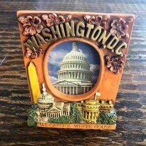 Washington DC Souvenir Frame - NWOT
